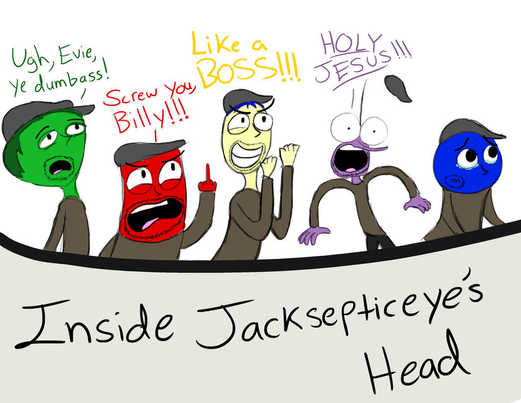 Drawing A Chibi Angry Bird Added By Dawn October 26: Jacksepticeye's Emotions In Inside Out. By SEPTICEYE4LIFE
