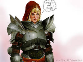 knight commander meredith by clc1997
