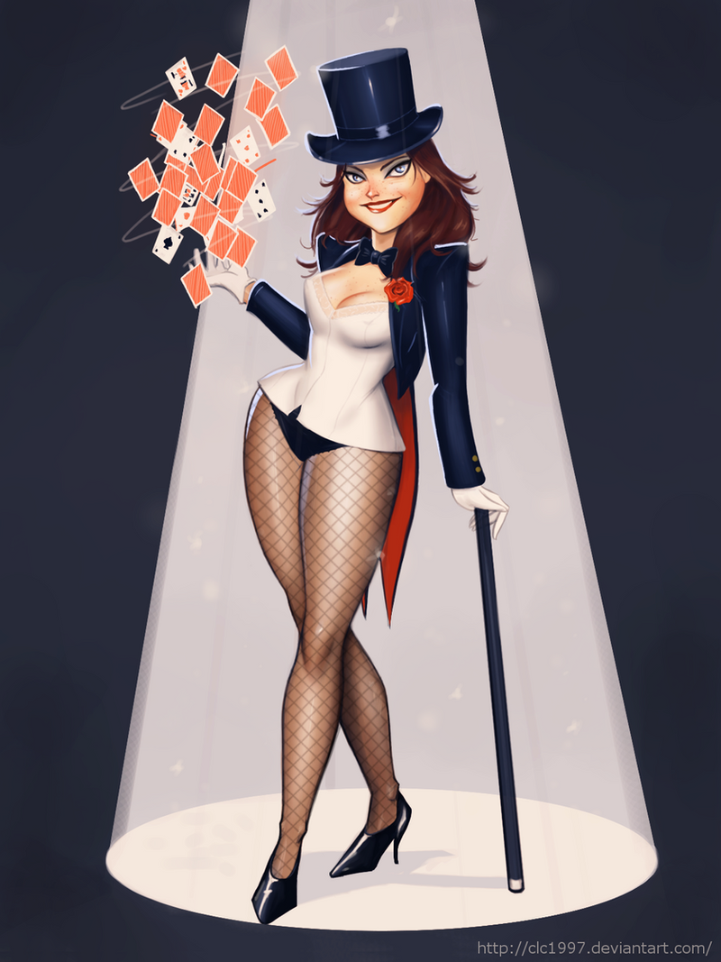 Zatanna Commission by clc1997