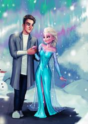 Elsa Commission by clc1997