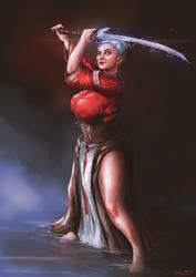 Wynne: Arcane Warrior by clc1997