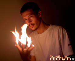 Redrum on Fire