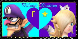 Waluigi X Rosalina stamp by SirJTheFirered