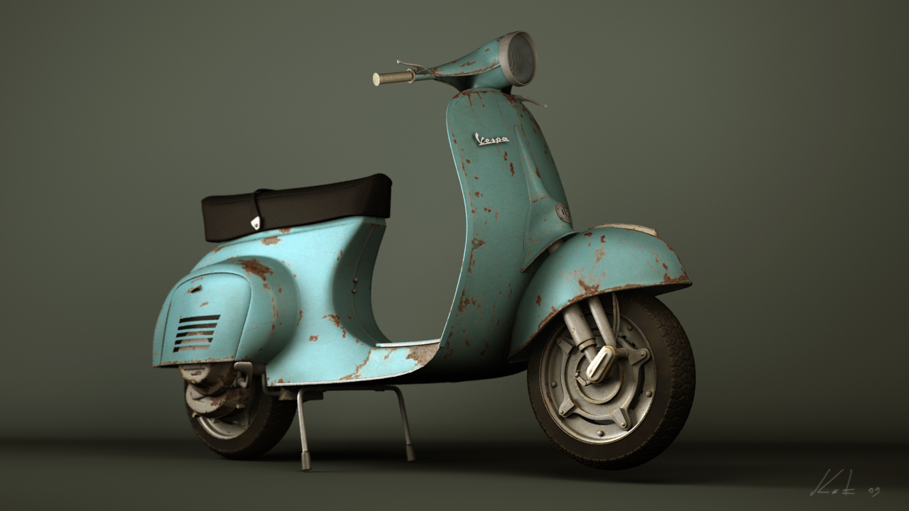 Old Vespa For Sale Italy
