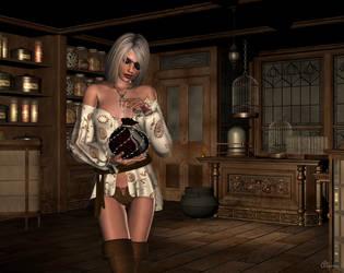 Magic Shoppe by cryptic-sacrifice