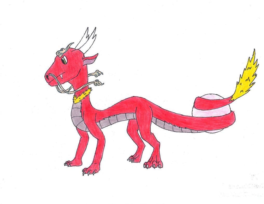 Dragon Fairy Fakemon Stage 1 by Inkweaver22