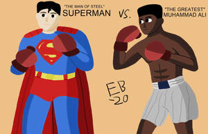 Superman vs Muhammad Ali by Leck-Zilla