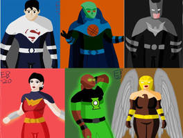 Justice Lords: A Better World by Leck-Zilla