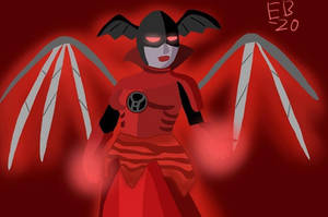 Red Lantern Bleez: the Ruler of Rage by Leck-Zilla