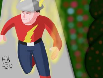 The Flash Jay Garrick: OG Speedster by Leck-Zilla