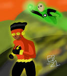 Flash/GL: The Brave and the Bold Beyond! by Leck-Zilla