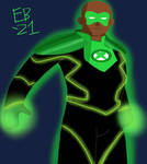 Emerald Knight (Power Ring) by Leck-Zilla