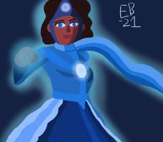 Blue Lantern Nicole Morrison: the Hope Bringer by Leck-Zilla