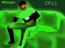 Green Lantern John Stewart: Mosaic World by Leck-Zilla