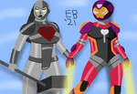Steel/Ironheart: the Steel and the Heart by Leck-Zilla