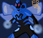 Blue Beetle Jamie Reyes! by Leck-Zilla