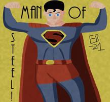 Superman: Old School by Leck-Zilla