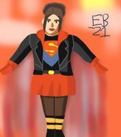 Supergirl (Cir-El) aka Caitlin Seeger by Leck-Zilla