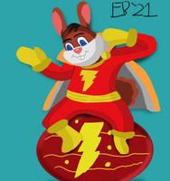 Hoppy the Marvel Bunny! by Leck-Zilla
