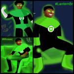 Green Lantern John Stewart 50th anniversary coll. by Leck-Zilla