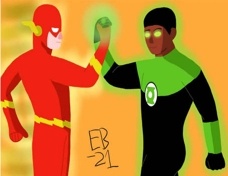 The Flash and Green Lantern: Super Brave and Bold