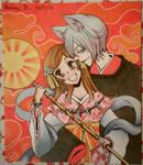Nanami and Tomoe (Kamisama hajimemashita) by moltiplicazione