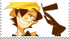 human Bill Cipher stamp by SHOUTDANNY