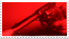 red revolver | stamp