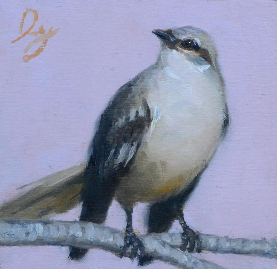 Bird study by Ivy-Maggie