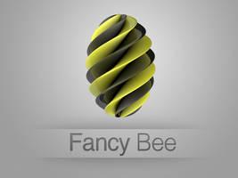 Fancy Bee Logo by DonnaDesign