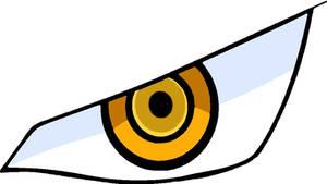 Dracule Mihawk eye vector