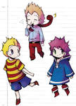 Mother 3 chibis