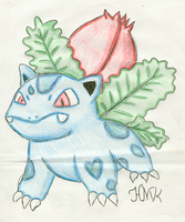 Ivysaur by Shabou