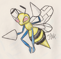 Beedrill by Shabou