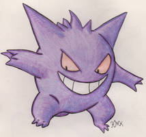 Gengar by Shabou