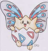 Old Pokemon, New Type 7: Togepi by Shabou