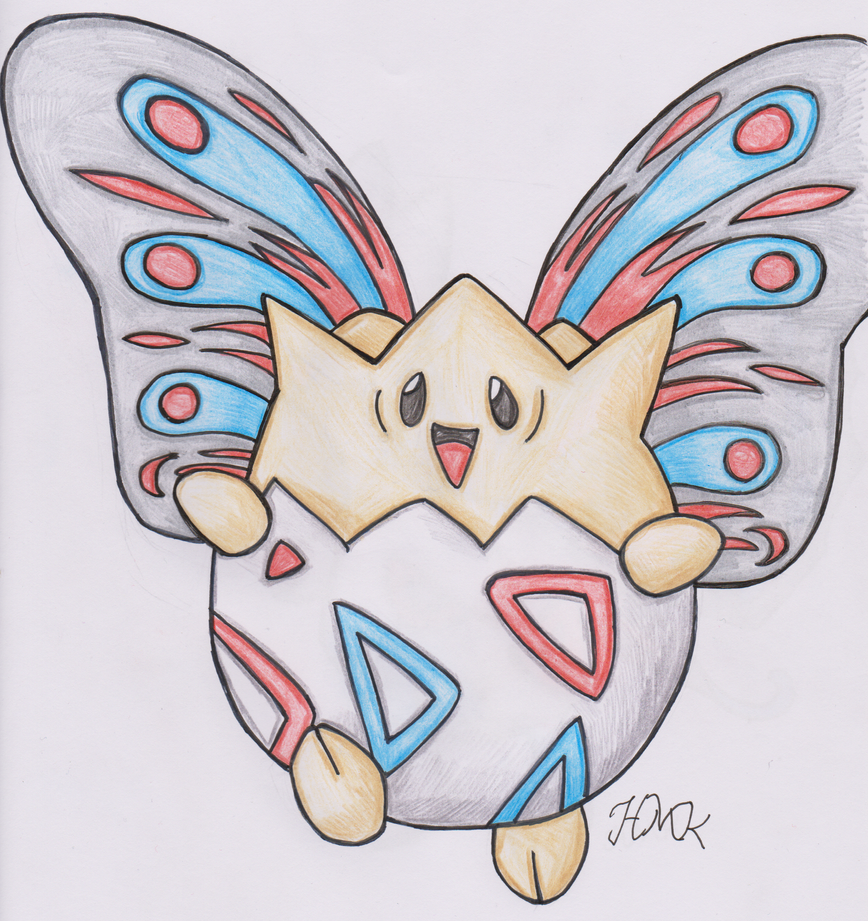 Old Pokemon, New Type 7: Togepi by Shabou