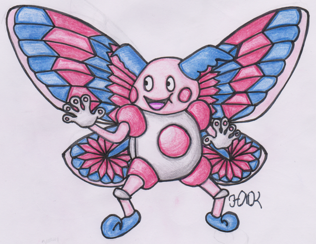 Old Pokemon, New Type 20: Mr. Mime by Shabou