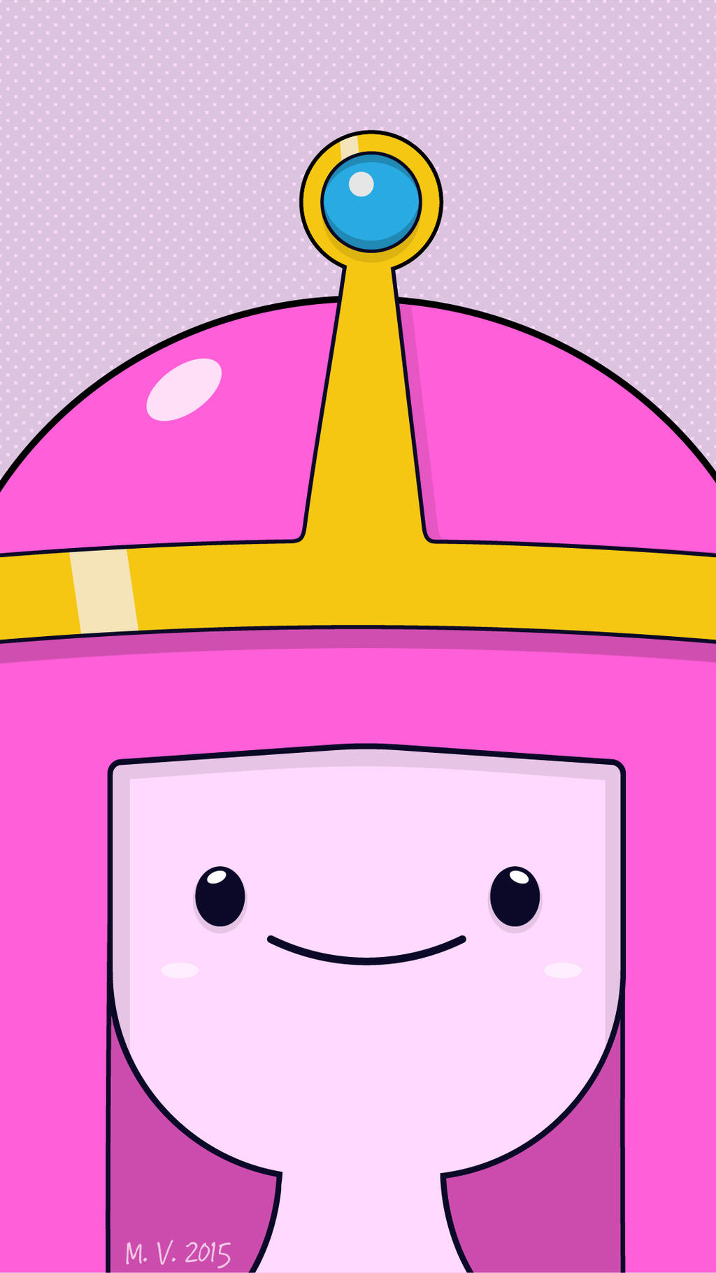 Princess Bubblegum By Biscuitatus