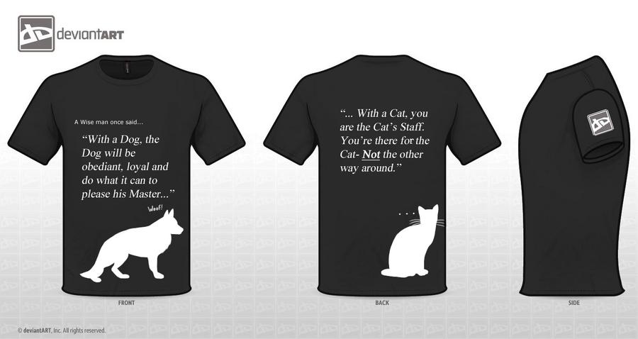 Pets T-Shirt by Shadowwolf-Fox
