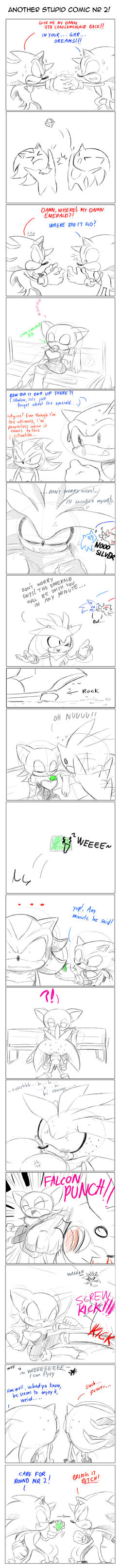 Another stupid comic nr 2 :O by missyuna