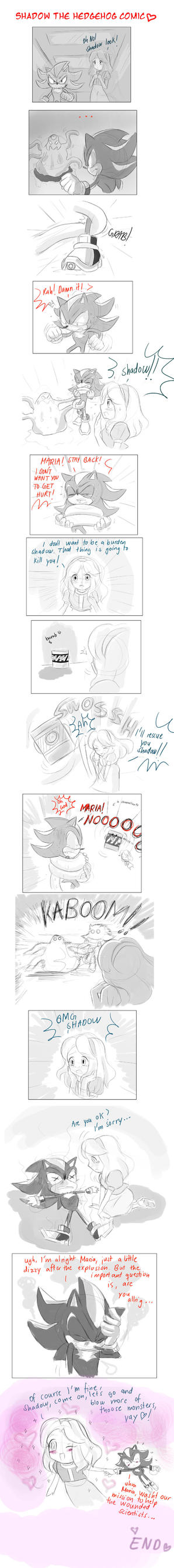 Shadow the hedgehog comic by missyuna