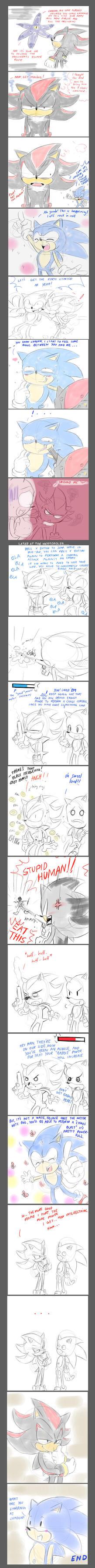 shadow the hedgehog comic 2 by missyuna