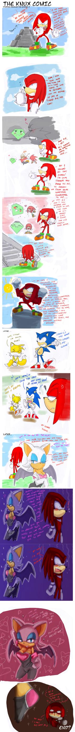 The Knux comic by missyuna