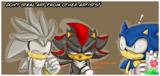 Art theft...not cool