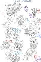 silly doodles by missyuna
