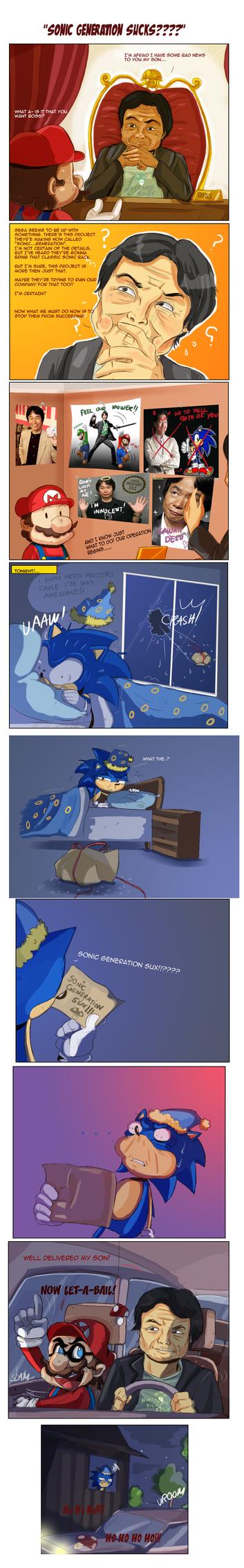 Sonic Generation sux? by missyuna