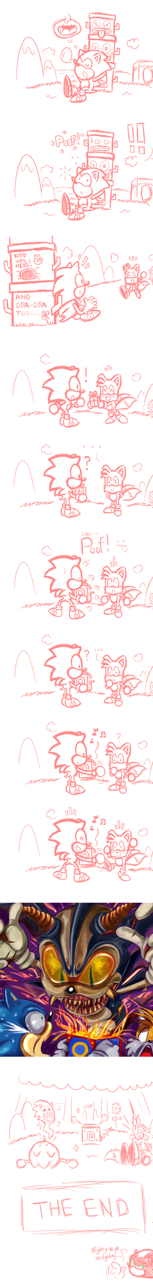 A Gift for Sonic?by captainjamesman by missyuna