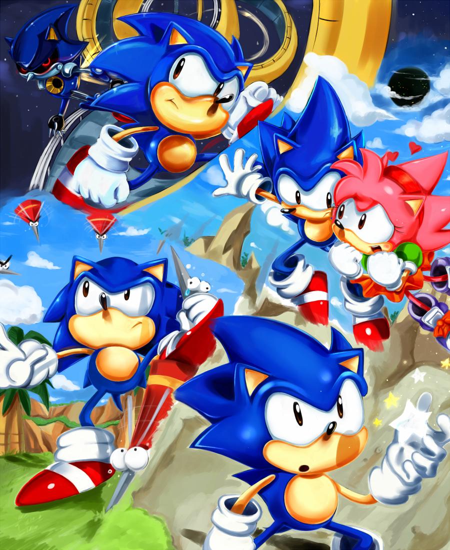 Sonic CD: ending by missyuna