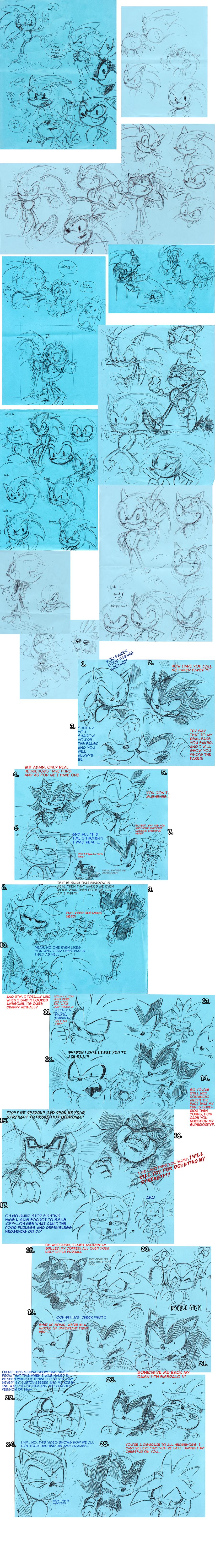 A new Sonic art?? by missyuna